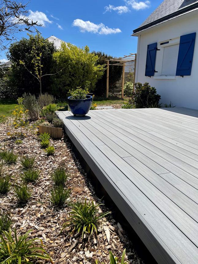 Terrasse Composite à Lesconil